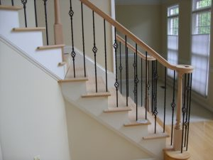 Upgrading to Iron Balusters NC Cary